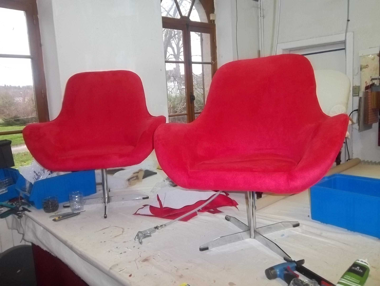 fauteuil ann e 70 alcantara dabovilletapissierpau. Black Bedroom Furniture Sets. Home Design Ideas